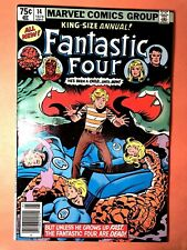 FANTASTIC FOUR ANNUAL 14 (Marvel 6/79 8.5 non-CGC) NR! MS. MARVEL! AVENGERS!
