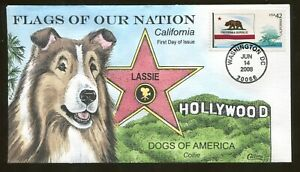 2008 Washington DC - Flags of Our Nation - California - Collins FDC