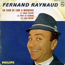 FERNAND RAYNAUD - CLAIR DE LUNE A MAUBEUGE-TANGO POPULAIRE-TWIST DE FERNAND...