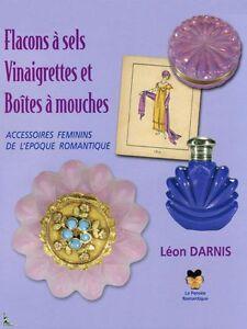 Salt bottles, Vinegar bottles Patch-boxes, French book