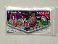 TUKARICA OA LODGE 266 SERVICE SCOUT PATCH 1910 2010 MINT RARE WHITE BSA 100TH