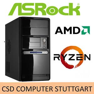 AUFRÜST-PC: AMD RYZEN 5 1600 6x 3,6GHz SECHSKERN - 16GB DDR4 - SOUND - LAN