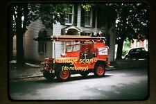 1947 Willys Jeep Fire Truck at Waynesboro, Pennsylvania, Original Slide c1a