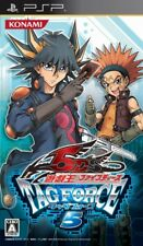 USED PSP Yu-Gi-Oh! 5D's Tag Force 5 //