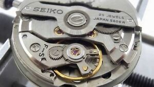 Seiko 5606A Movement Parts - Choose Part From List