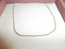 Pandora Auténtico 14 quilates Oro 45cm Collar Cadena De Oro 550110-45 G585 ALE
