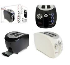Lloytron toaster Kitchen Perfected 2 Slice Wide Slot Toaster W/ Bagel Ivory