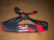 Valken Paintball Headband Protection Protective Crusade Red Black