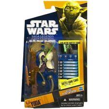 Star Wars Saga Legends SL13 Yoda  Action Figure New In Box