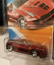 2012*Hot Wheels Super Treasure Hunt Ferrari 599XX Spectraflame��Paint