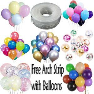 5M DIY Balloon Arch Garland Kit Birthday Ballon Wedding Baby Shower Hen Party UK