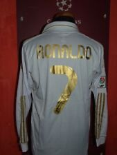 RONALDO REAL MADRID M 2011/12 MAGLIA SHIRT CALCIO FOOTBALL MAILLOT JERSEY SOCCER
