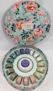 NEW — Yankee Candle Set 18 Spring Tea Lights & Ceramic Holder