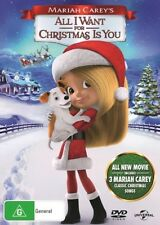 BRAND NEW Mariah Carey's All I Want For Christmas Is You (DVD, 2017) Movie
