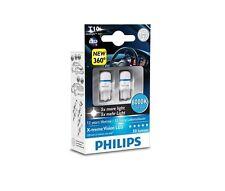 PHILIPS 127998000KX2 W5W LED T10 12V 1W 8000K X-treme Vision 5x CeraLight™, 360°