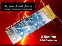 Quick Delivery 10pcs. AG4 Eunicell Button Cell Alkaline Battery 1.5V NSW Aussie