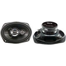 New Lanzar MX693 6'' x 9'' 600 Watts 3 Way Triaxial Speakers Car Audio