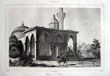 IZNIK YESIL CAMII GRÜNE MOSCHEE 1840 NICÉE MOSQUE MOSQUÉE MOSCHEA TÜRKEI TÜRKIYE