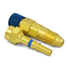 Argon Inert Gas Regulator to Hose Quick Connect/Connector Disconnect Set, QDB33