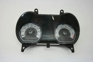 09 JAGUAR XF SPEEDOMETER INSTRUMENT CLUSTER WITH SUPERCHARGED OPT OEM