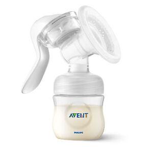 Avent Manual Breast Baby Newborn Feeding Pump All Sizes