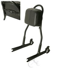 Passenger Sissy Bar Pad Backrest For Harley Softail Deluxe FLSTN 2000-2017 2016