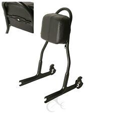 Detachable Passenger Sissy Bar Backrest Upright For Harley FLSTF Softail Fat Boy