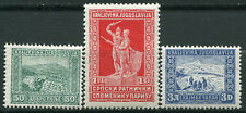 93.Yugoslavia Kingdom of 1931 Serbian War Memorial Paris Fund MH mi 225/227