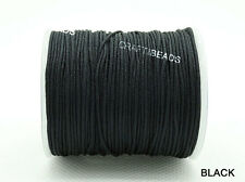 1mm Superior Nylon Chinese Knot Cord Shamballa Macrame Beading String - 75yards