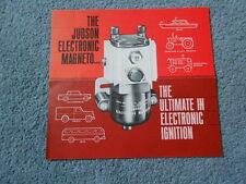 VINTAGE JUDSON ELECTRONIC MAGNETO SALES BROCHURE IGNITION CAR BUS TRUCK TRACTOR