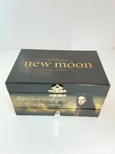 Rare NECA The Twilight Saga New Moon Musical Jewelry Box Bella Edward & Jacob