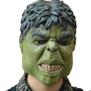 Avengers Super Hero Incredible Hulk Adult Mask Halloween Cosplay Party Costume