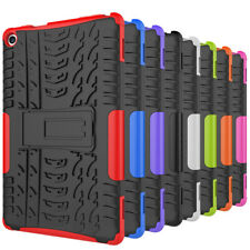 Hybrid Rugged Armor Hard Stand Shockproof Case Cover For Amazon HD 8 6th 7th Gen