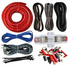 car audio amplifier kits for sale ebay rh ebay com car stereo amplifier wiring kit car amplifier wiring kit india