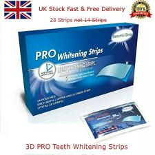 💖 28 Pieces New Professional Advanced Teeth Whitening Strips Home Bleaching 💖