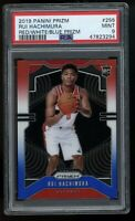 Rui Hachimura Panini Prizm Rookie Card Red White Blue PSA 9 Mint Wizards