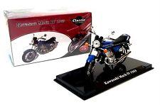 1969 KAWASAKI MACH IV Blue - 1:24 Scale Die-Cast Classic Motorbike Model Atlas
