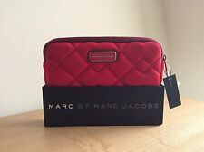 Marc by Marc Jacobs Ipad mini red quilted neoprene tablet sleeve NEW