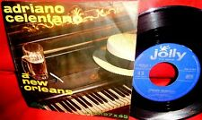 ADRIANO CELENTANO A New Orleans/Un sole caldo caldo caldo 7' + PS 1962 ITALY EX