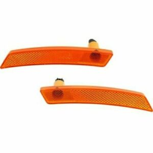 FITS FOR MINI COOPER 2007 - 2013 FRONT SIDE MARKER RIGHT & LEFT PAIR SET