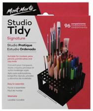 Mont Marte Studio Tidy Paint Brush Pencil Modelling Tool 96 Compartments Plastic