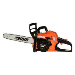 ECHO CS-3510 16'' Gas Rear Handle Chainsaw - Orange