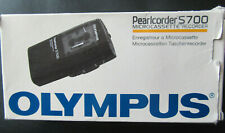 More details for boxed olympus s700 micro cassette pearlcorder voice recorder/dictaphone working