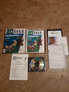 Sim Isle PC CD-ROM - Big Box - Maxis, 1995, Fully Complete