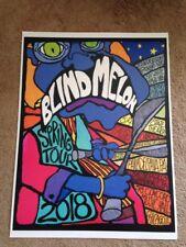 BLIND MELON 2018 SPRING TOUR POSTER CONCERT NYC NJ PHIL VA CHICAGO NEW