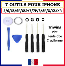 KIT OUTILS TOURNEVIS REPARATION IPHONE 6 / 6S / 6P/ 7 / 8 / X / 7 PLUS / WATCH