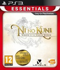 Ni No Kuni Wrath of the White Witch For PAL PS3 (New & Sealed)