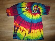 Life Amplified Rock & Roll Hall of Fame Cleveland Ohio Tie Dye Shirt XL Mens NEW