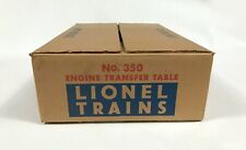 Postwar Lionel 350 Engine Transter Table C10 MINT OB