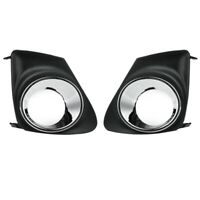 Car Front Fog Light Lamp Cover Grille for Toyota Corolla 2011-2013 X9W7
